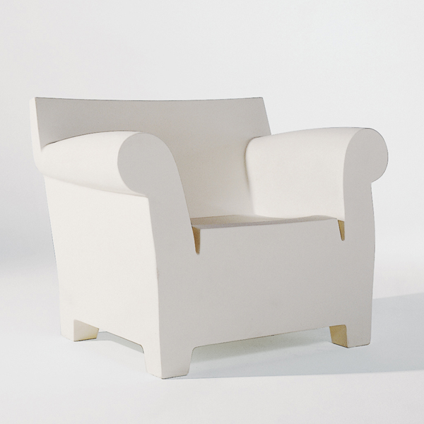 kartell bubble club chair lounge chair seating plastic living
