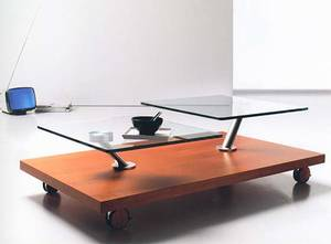 Movida by Ultra Modern. Wood, Metal, Glass, Coffee Tables, Living Room :  cherry modern decor wood