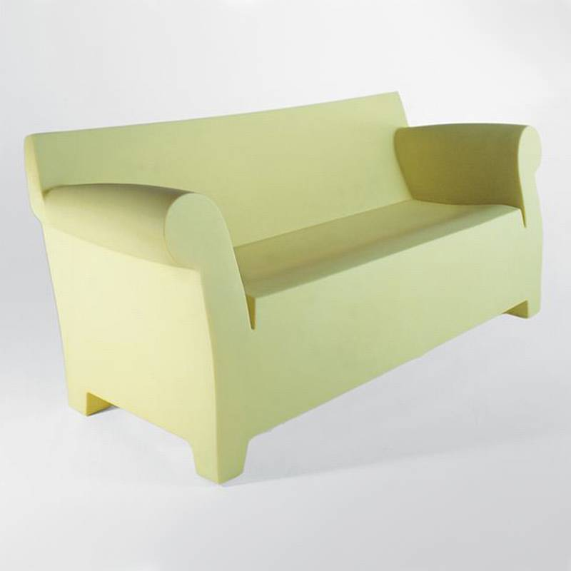 plastic outdoor sofa outdoor sofa bar led light emitting