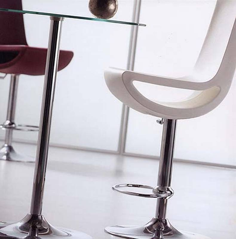Ciao High Back Stool from Softline Allkit designed by Per Erik Bjornsen.