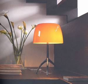 Lumiere Table Lamp from Foscarini designed by Rodolfo Dordoni.
