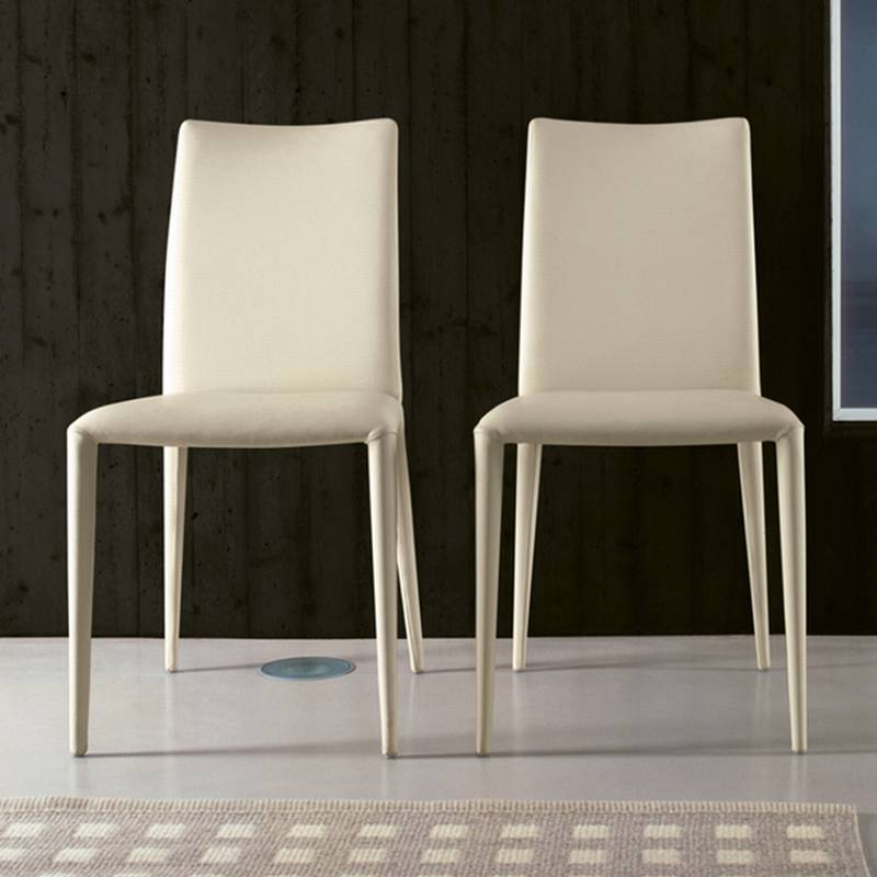 bonaldo balou chair leather dining room furniture ultra modern