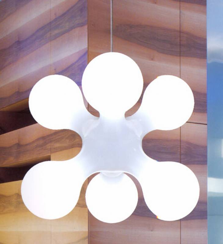 ultra modern lighting. atomium ceiling by kundalini ultra modern lighting r