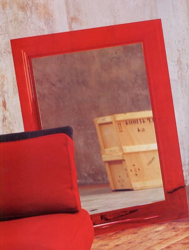 Kartell francois ghost plastic mirror glass ultra modern for Miroir francois ghost kartell