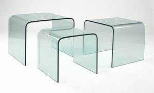Arch Table Nest from Viva Modern.