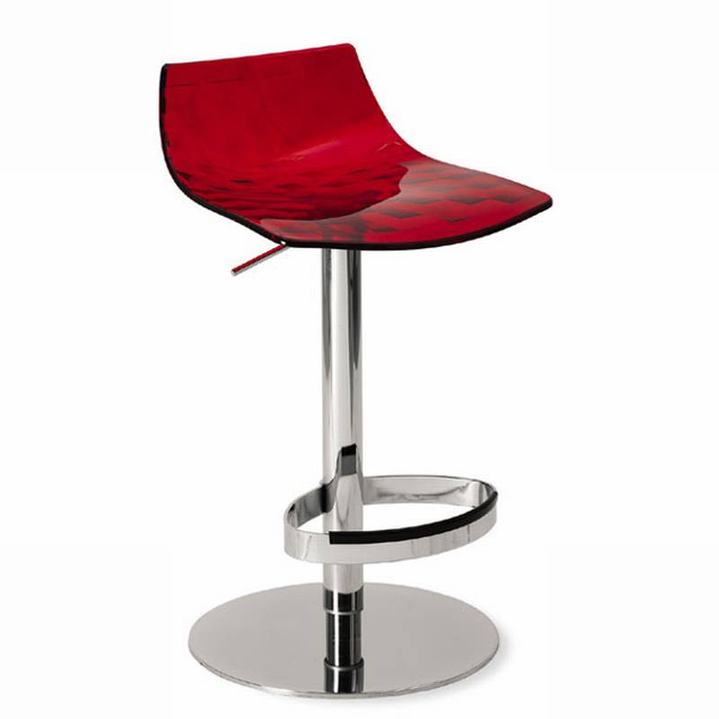 Ice Pedestal Stool from Calligaris.