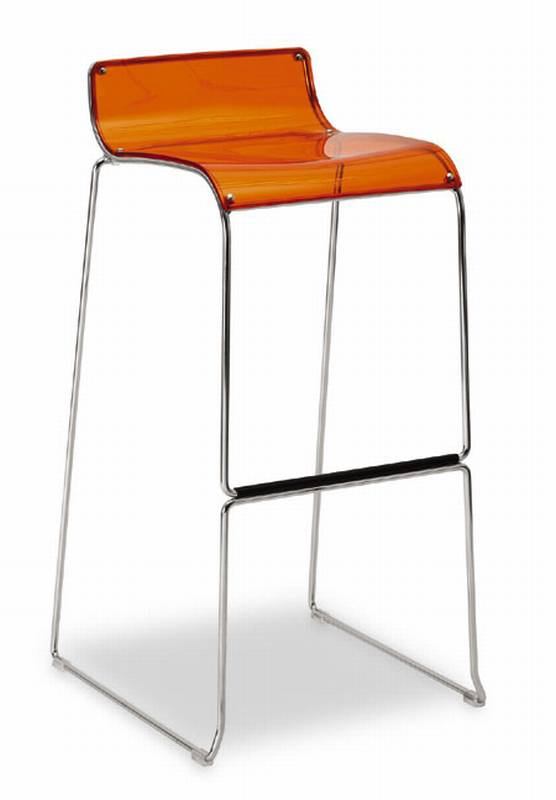 Irony Stool from Calligaris.