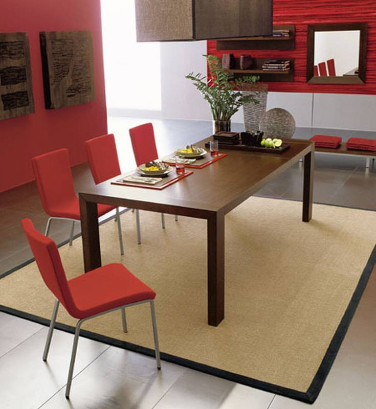 Ultra modern dining room tables for Ultra modern dining room