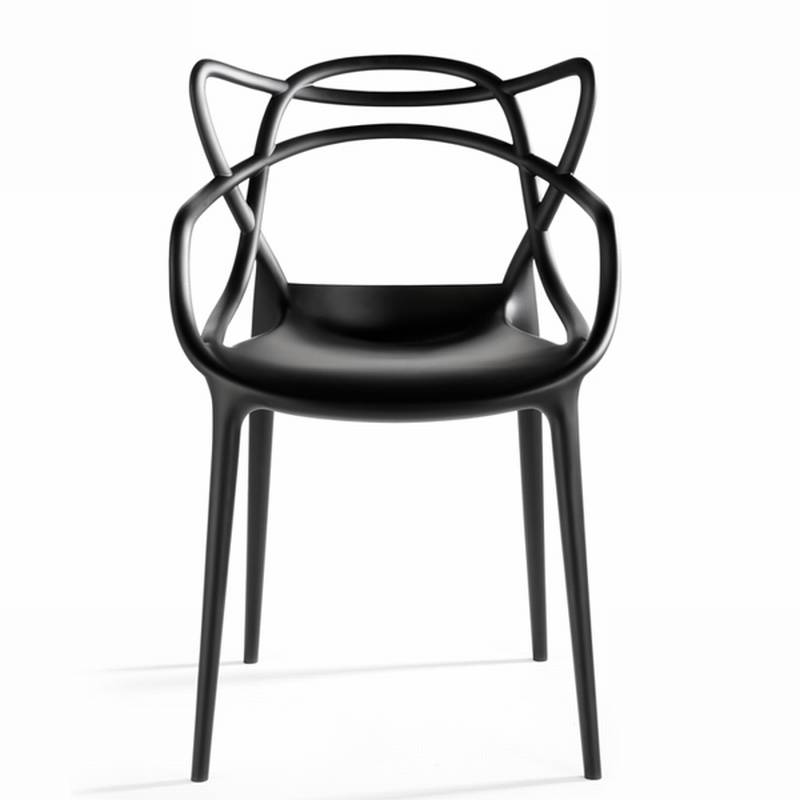 Kartell masters plastic chair dining room furniture for Kartell plastic chair