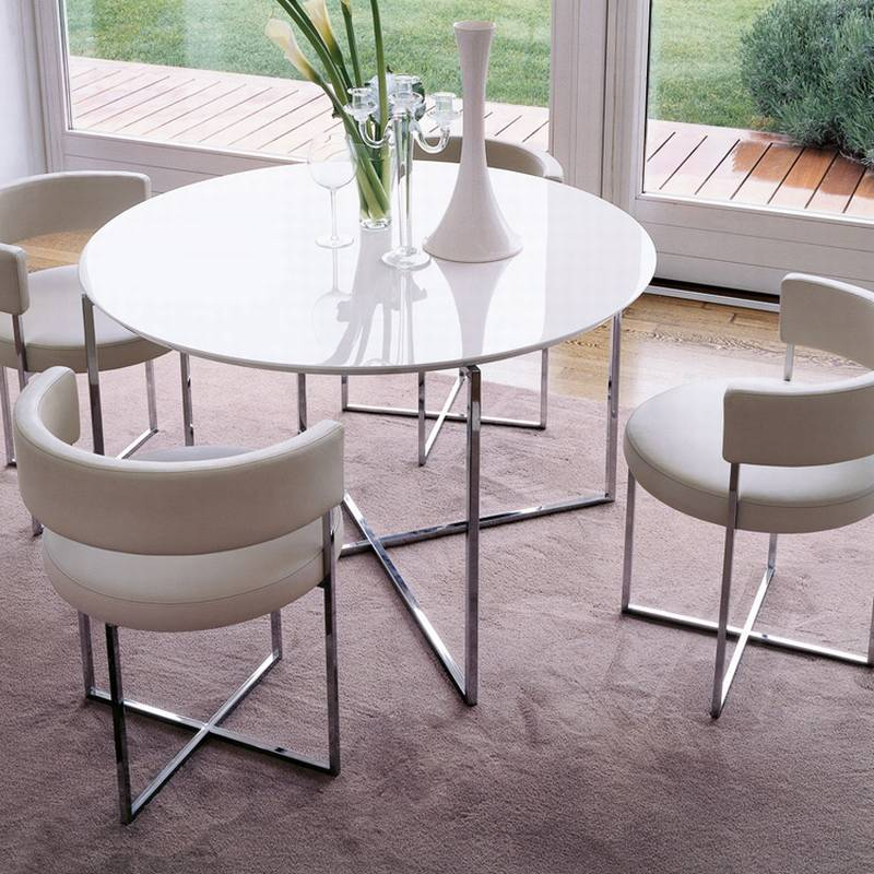 Sirio Dining Chair from Porada designed by Giuseppe Vigano.