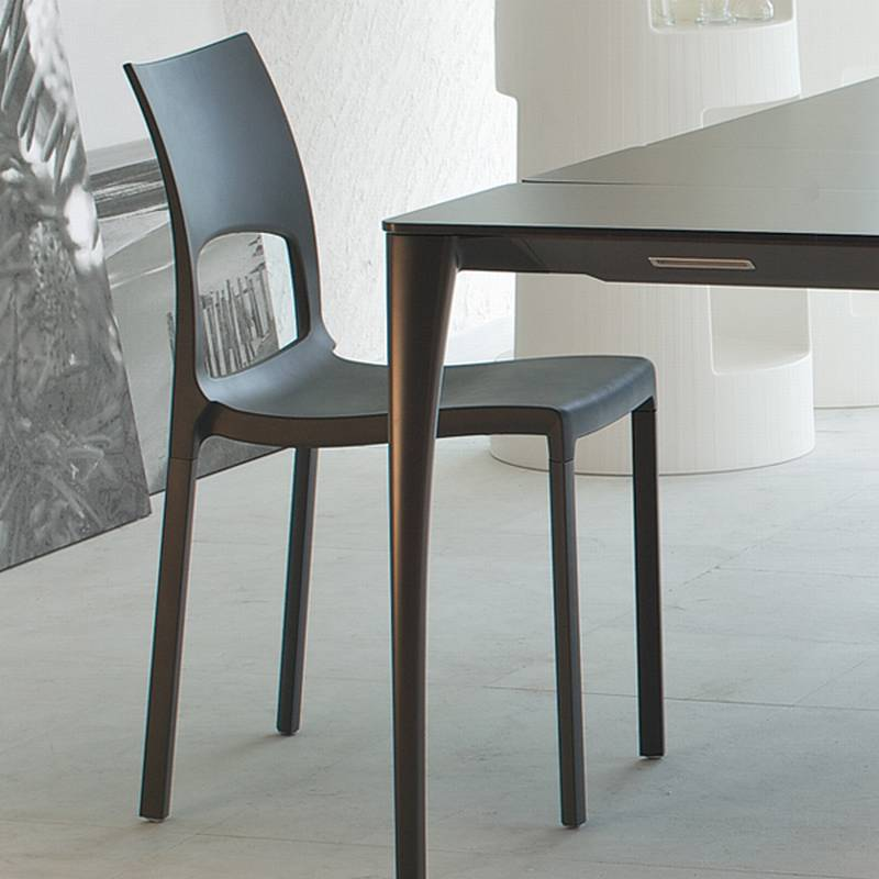 bonaldo idole plastic chair dining room furniture ultra modern