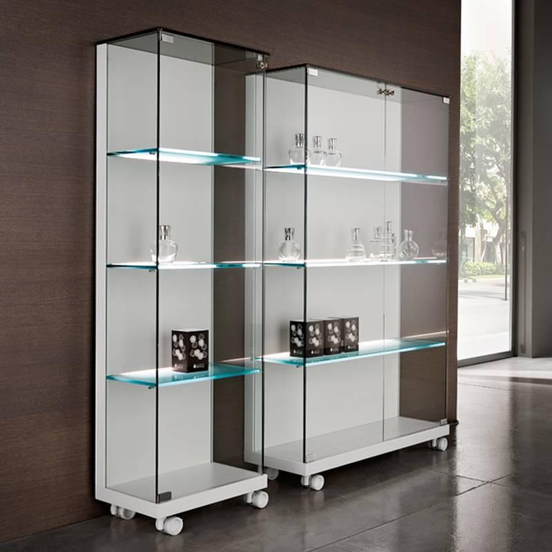 Tonelli medora cabinet sidebaord glass living room furniture ultra modern - Vitrina detolf ...