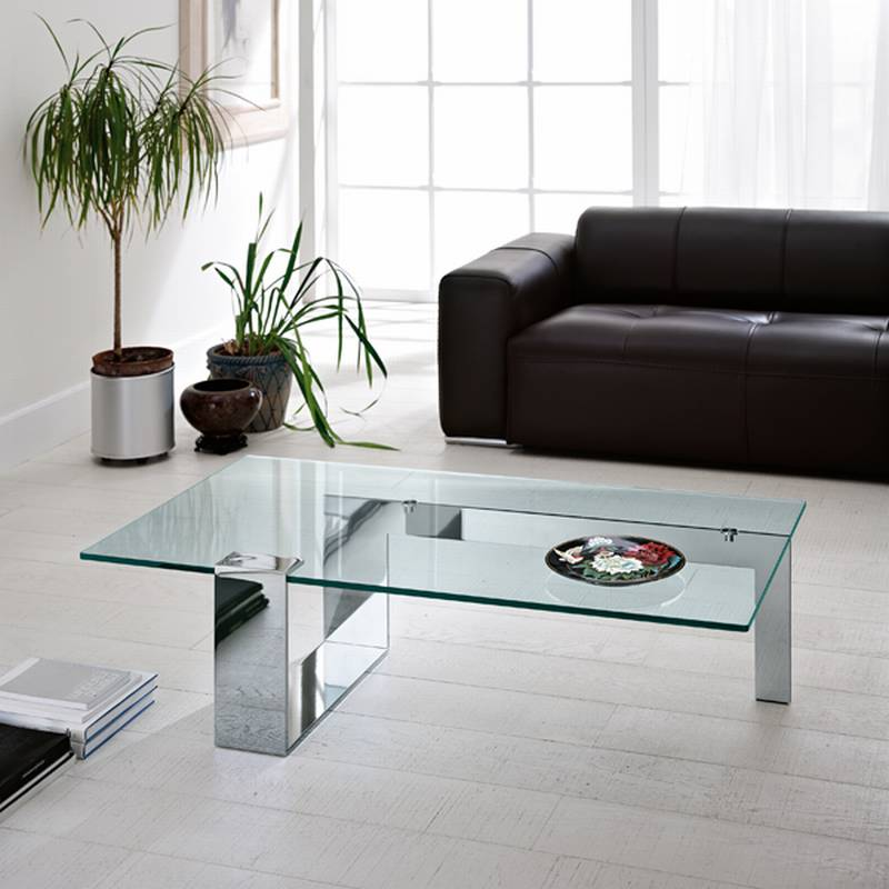 Tonelli Plinsky Coffee Table Cocktail Table Glass Living Room Furniture Plinsky Ultra
