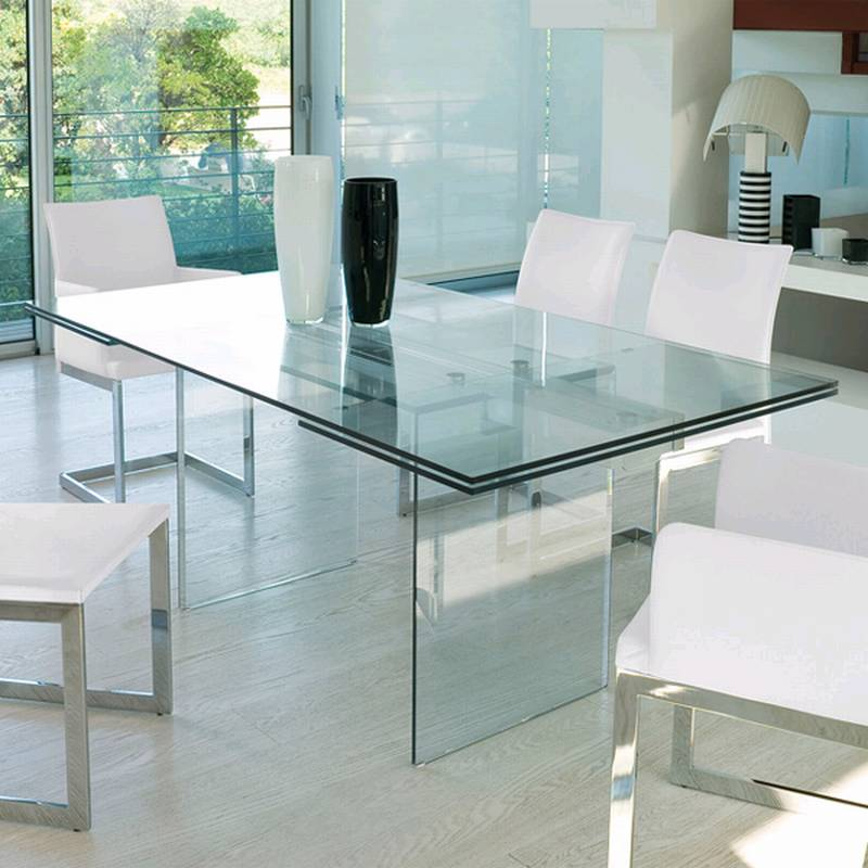 dining table glass dining room furniture miami ultra modern