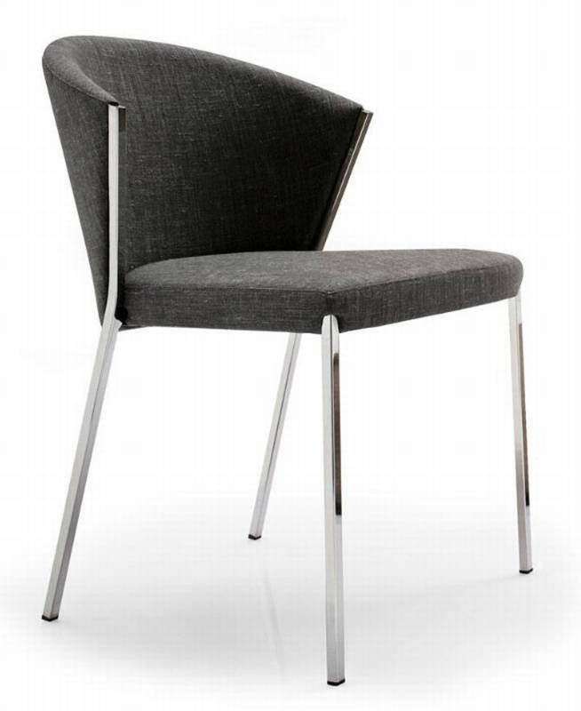 mya fabric chair dining room furniture upholstered ultra modern
