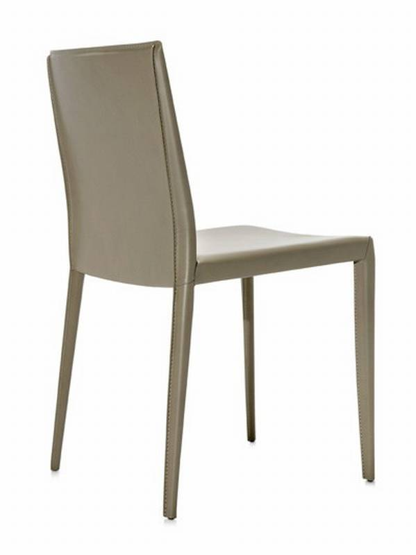 Frag lilly h chairs leather dining room ultra modern - Chaises cuir roche bobois ...
