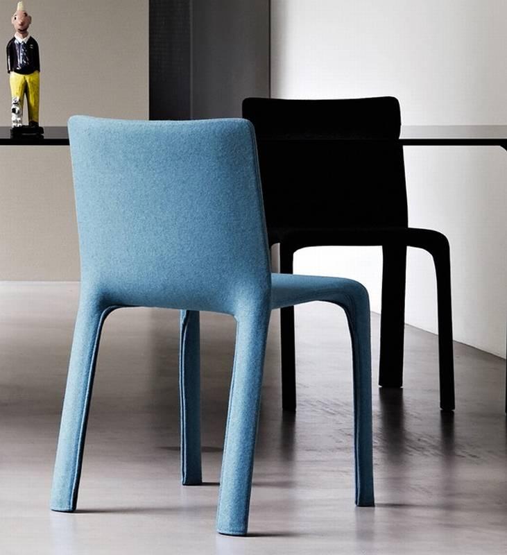 Kristalia joko chairs dining room fabric joko for Ultra modern dining room sets