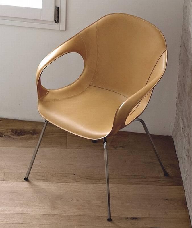 kristalia elephant hide chairs leather dining room ultra modern. Black Bedroom Furniture Sets. Home Design Ideas