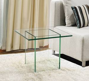 Viva Modern Glaze End Table   End Tables   Glass   Living Room   Glaze End Table by Viva Modern. Glass End Tables For Living Room. Home Design Ideas
