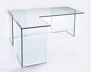 Viva Modern Form L Desk Desks Glass Office Ultra Modern