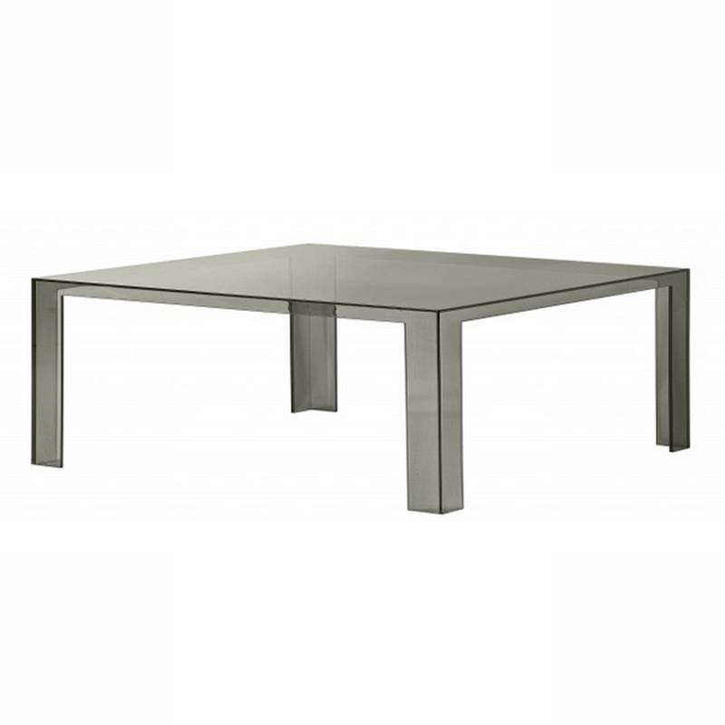Kartell Invisible Coffee Table Plastic Coffee Tables Living Room Invisible Coffee Table