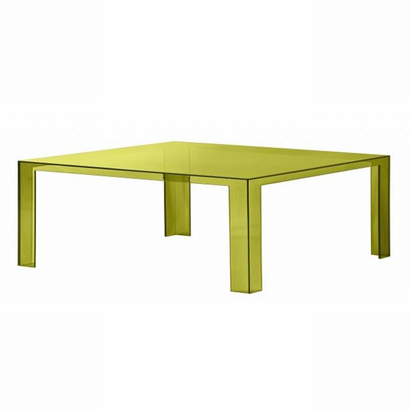 Kartell Invisible Coffee Table | Plastic | Coffee Tables | Living Room  Invisible Coffee Table : Ultra Modern