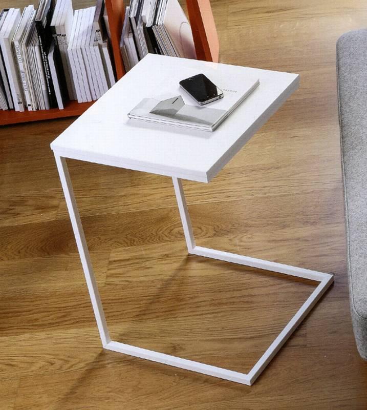 doimo basic slim side table end table living room. Black Bedroom Furniture Sets. Home Design Ideas