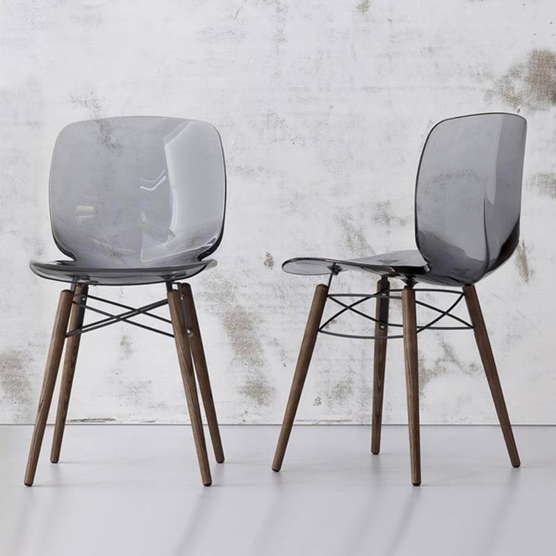 Bonaldo loto w plastic chairs dining room loto w for Sedie salone moderne