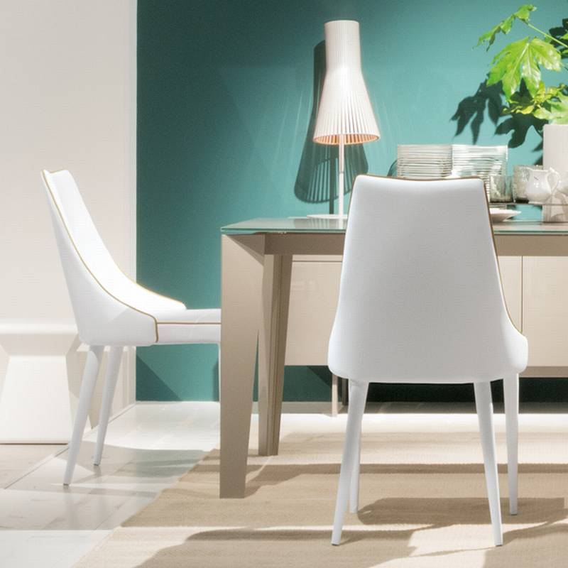 bontempi clara chairs leather dining room clara ultra modern