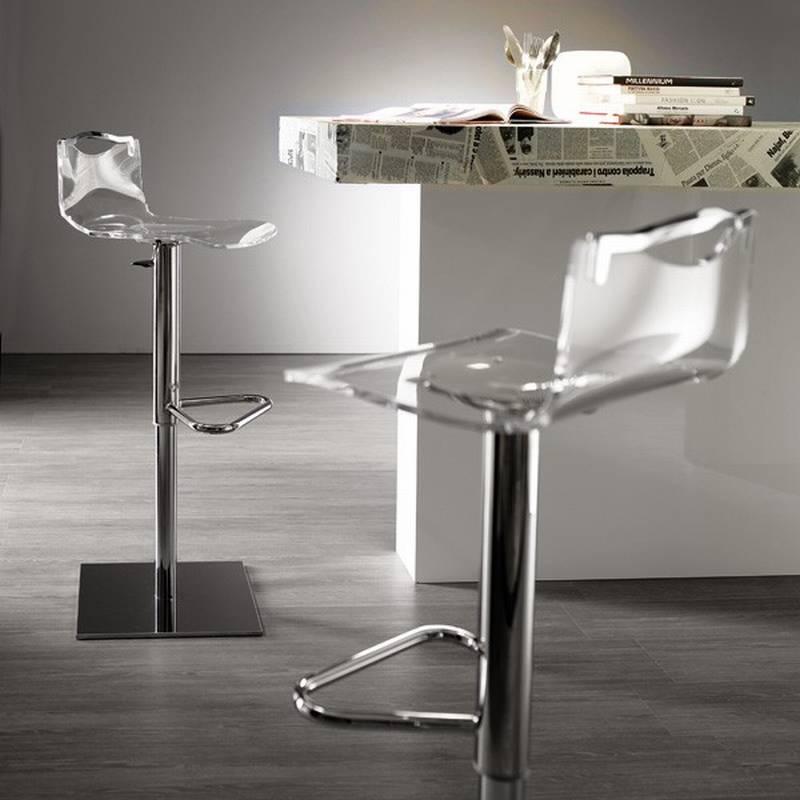 ozzio chuf basic s501 stools leather kitchen ultra modern