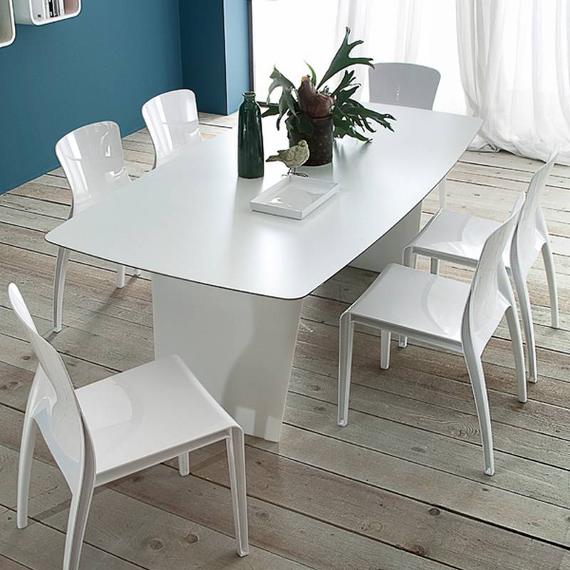Domitalia stone r plastic dining tables dining room for Domitalia stone t dining table