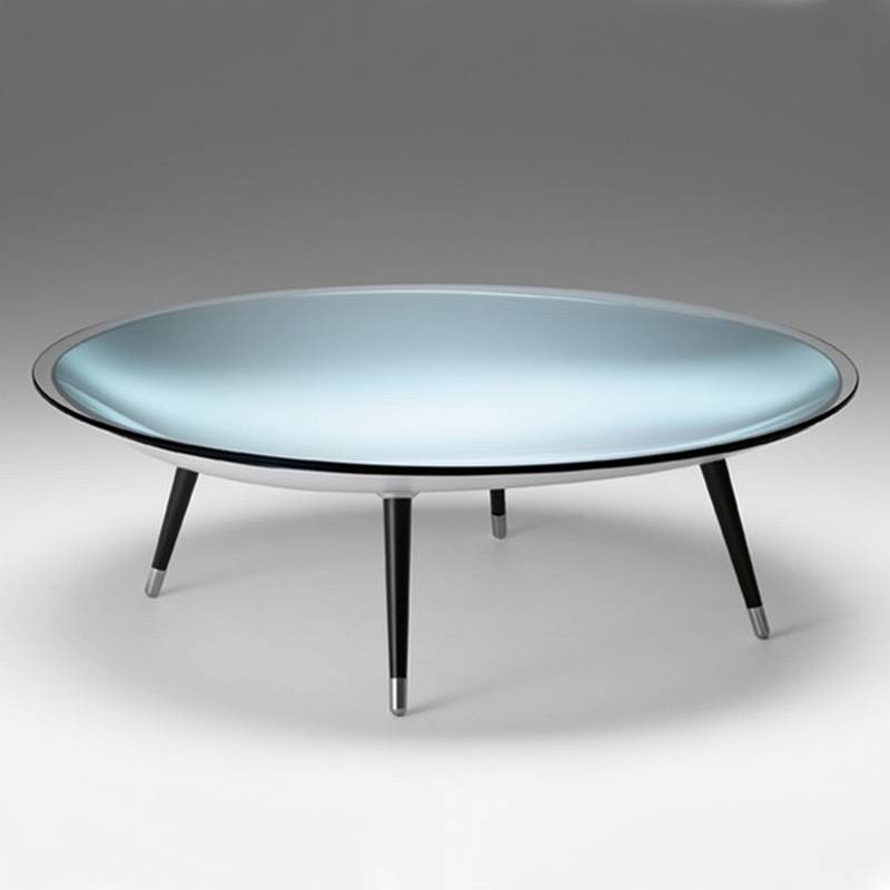 Fiam Roy Coffee Tables Glass Living Room Ultra Modern