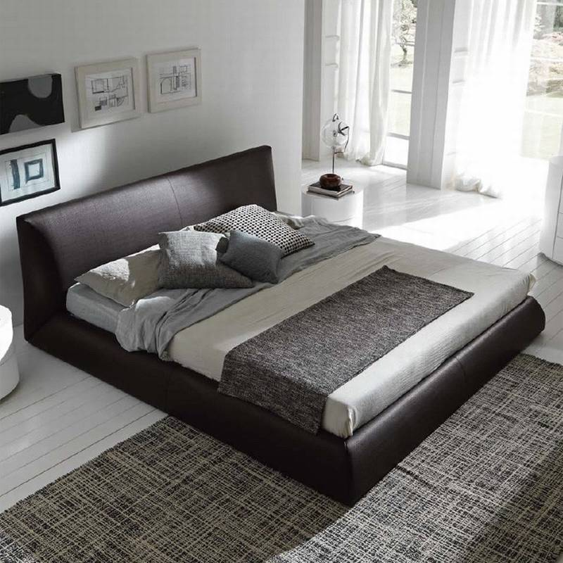 Rossetto Coco Bed Leather Bedroom Ultra Modern - Rossetto furniture