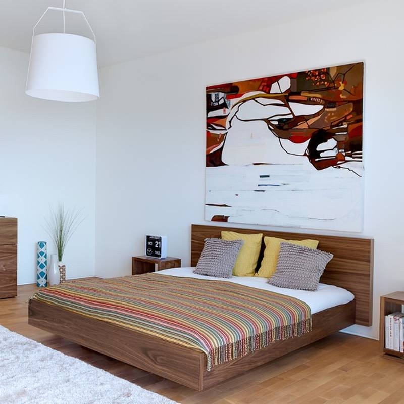 10 Ultra Small Bedrooms With King Size Beds: Bedroom Ultra Modern