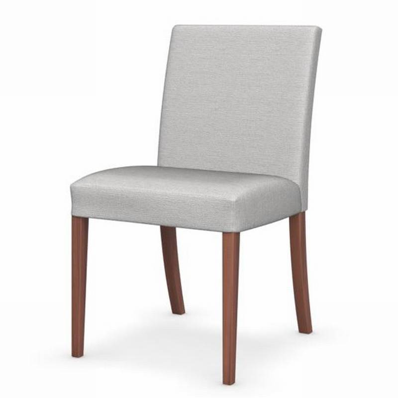 latina low chairs wooden dining room fabric ultra modern
