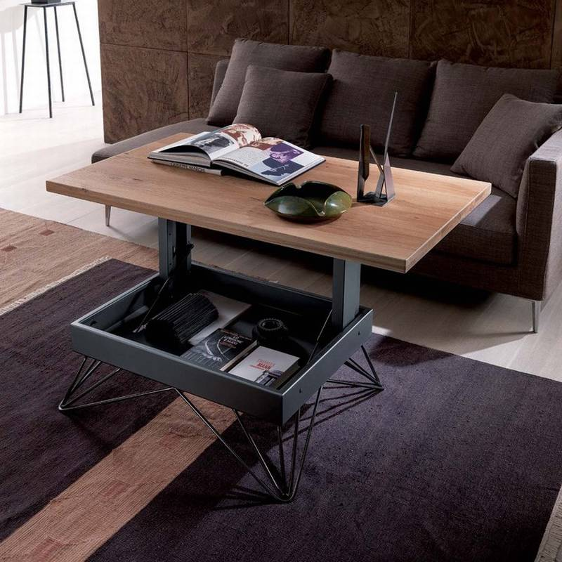 Ozzio Radius T064 Coffee Tables Space Saving Multi Purpose