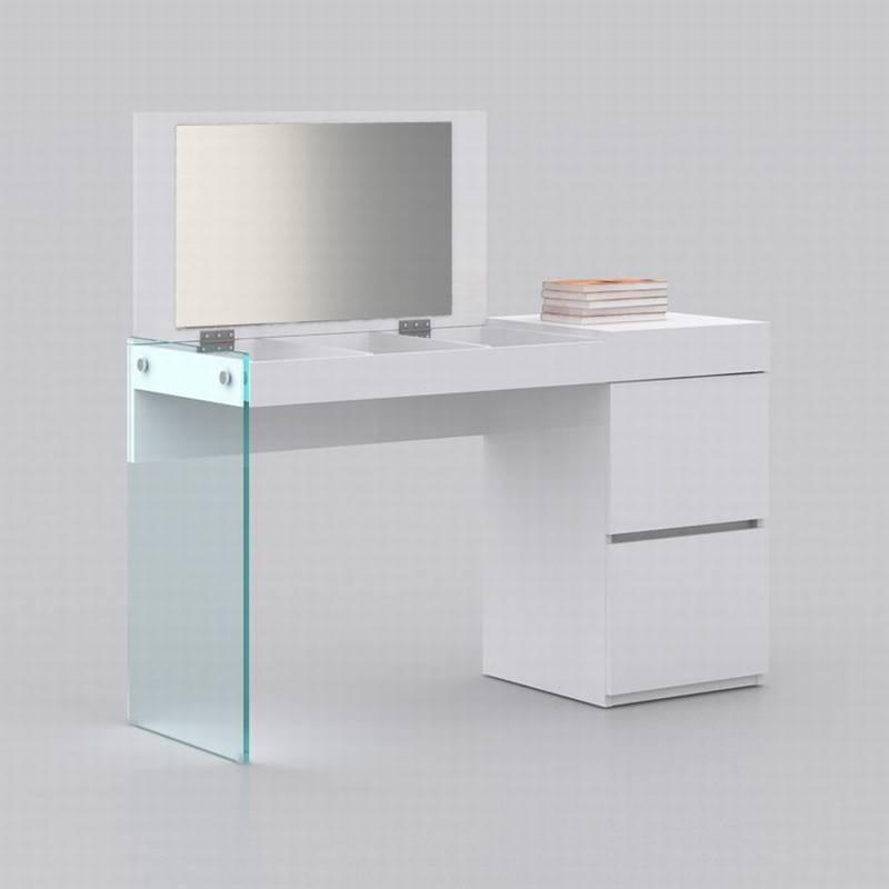 il vetro vanity cb 111 desks wooden glass bedroom ultra modern