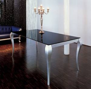 Miniforms Ghost Glass Dining Table Dining Room Furniture Ultra Modern