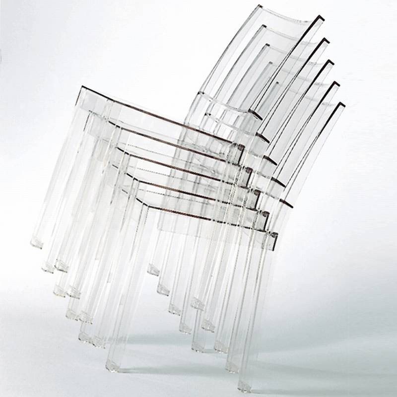 La Marie Chair from Kartell designed by Philippe Starck.