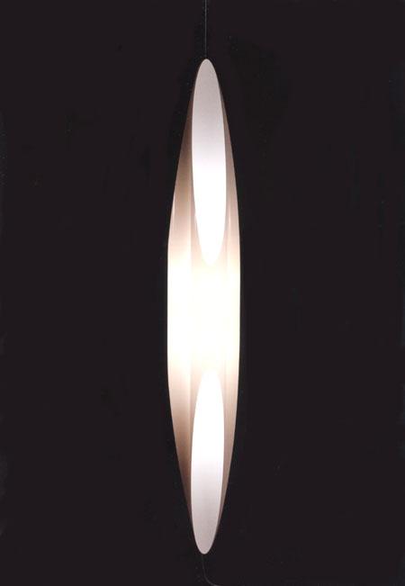 Kundalini Shakti Air Plastic Modern Light Suspended