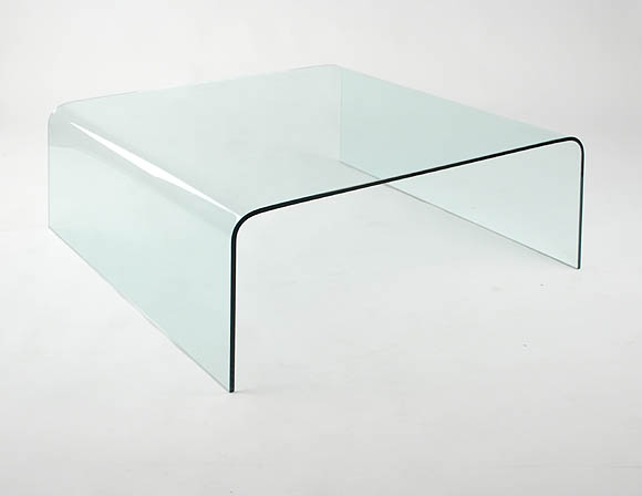 Viva Modern Arch Square Coffee Table Bent Glass | Curved Glass | Cocktail  Table | Living Room Furniture   Contemporary Furniture From Ultra Modern
