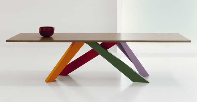 Bonaldo Big Table Dining Tables | Wooden | Glass - Contemporary ...