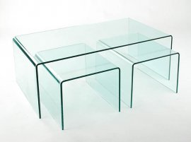 Arch (Waterfall) Coffee Table Nest by Viva Modern