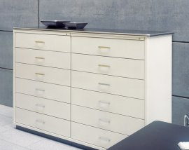 Classic Line 12 Drawer Cabinet by Muller