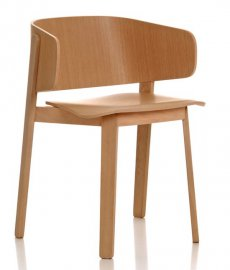 Wolfgang Armchair WOR235 by Fornasarig
