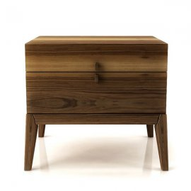 Moment 2 Drawer Night Table 002144 by Huppe