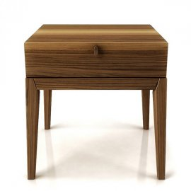 Moment 1 Drawer Night Table 002143 by Huppe