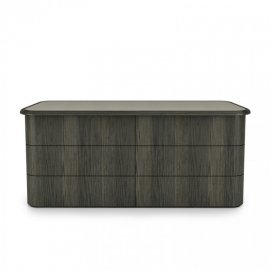 Kosy 6 Drawer Dresser 02235V by Huppe
