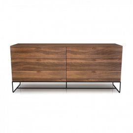 Linea 6 Drawer Dresser 02335M by Huppe
