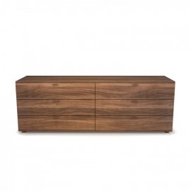 Linea 6 Drawer Dresser 02335 by Huppe